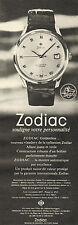 Publicité Advertising 1965  Montre ZODIAC Goldenline Automatique