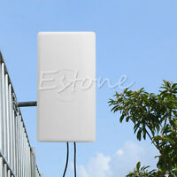 4G High Gain LTE Panel Flat Outdoor Antenna for Wifi Network Wireless Router 1pc