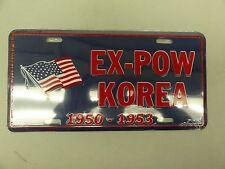 CAR AUTO TAG BRAND NEW EX-POW KOREA 1950-1953