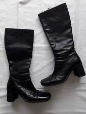 Damen Stiefel Leder schwarz Gr. 40 Sutor