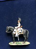SOLDAT DE PLOMB CAVALIER EMPIRE CUIRASSIER ORDENSKI RUSSIE 1812