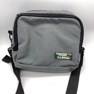 """Vtg 8""""x9"""" LL Bean Satchel Mini Camera Bag USA Made Shoulder Crossbody Case Tote"""