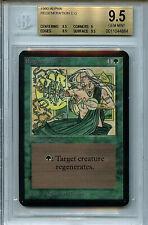 MTG Alpha Regeneration BGS 9.5 Gem Mint Card Magic WOTC Amricons 4864