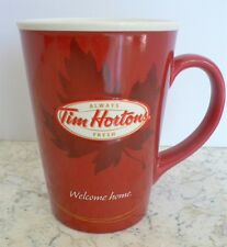 Collectible TIMS Tim Hortons Coffee Mug #011 Ltd Edition Welcome Home