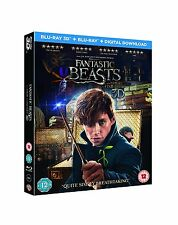 Fantastic Beasts and Where To Find Them (3D + 2D Blu-ray, Harry Potter, 2 Discs)