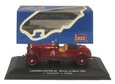 IXO LM1935 Lagonda Rapide #4 Winner Le Mans 1935 - Hindmarsh/Fontes 1/43 Scale