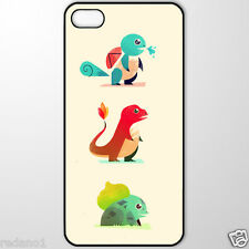 Pokemon Starters iPhone 4 5 5C 6 Plus Galaxy S3 S4 S5 Note 3 4 Edge Nexus 6 Case