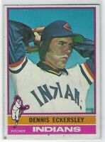 1976 TOPPS DENNIS ECKERSLEY ROOKIE RC #98 CLEVELAND INDIANS NICE L@@K