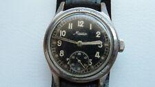 Uhr Minerva, 34mm, Militär, Mechanische ,Vintage, Alte Uhr, Selten,Military!!