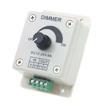 DC 12V-24V LED Dimmer Controller Adjust Single Color For 5050 3528 LED Stri M7N7