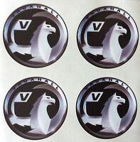 4 x Wheel stickers VAUXHALL 65 mm center badge centre trim cap hub alloy xb