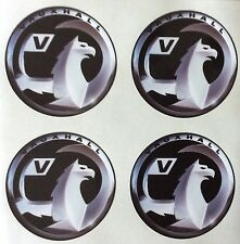 4 x Wheel stickers VAUXHALL 55 mm center badge centre trim cap hub alloy xb