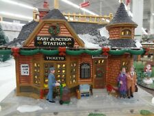 NIB 2017 Lemax Christmas East Junction Train Station Village Collection NEW