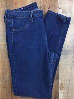 """H&M &Denim Dark Wash Skinny Ankle Women's Jeans Size 32x29x10"""""""