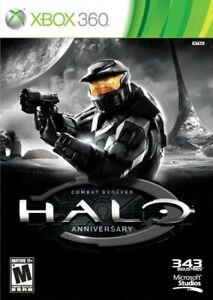 Halo: Combat Evolved Anniversary Microsoft Xbox 360 2011 BRAND NEW SEALED RIPPED