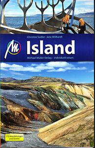 Reiseführer Island 2015/16+ Wanderungen Michael Müller Verlag, UNGELESEN wie NEU