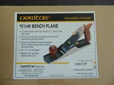 VERITAS #5 1/4 BENCH PLANE - BRAND NEW IN THE BOX - WOODWORKING - CARPENTRY