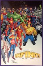 INFINITY COUNTDOWN 1 May 2018 9.4-9.6 NM/NM+ RON LIM WRAPAROUND VARIANT COVER!!!