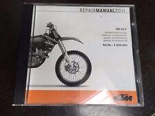 KTM Repair Manual CD for 2011 350 SX-F, Art. No.:3.206.091