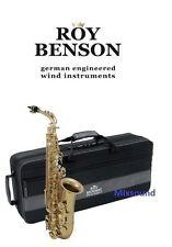 ROY BENSON AS202 SASSOFONO ALTO in Mib  SAX CONTRALTO CON ASTUCCIO