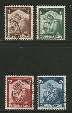Germany 1935 Return of the Saar (448-51) fine used