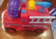 RARE 2002 Hasbro TONKA RC Fire Truck Toddler Toy with Lights