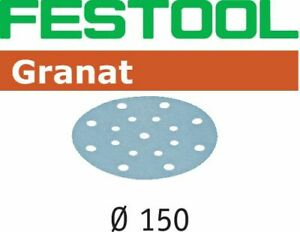 Festool StickFix Schleifscheiben Granat Ø 150 mm / 100 Stück / P150 - 496980