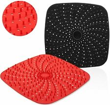 Reusable Air Fryer Liners with Raised Silicone