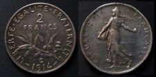 2 Francs 1914C Castelsarrasin Argent/Silver