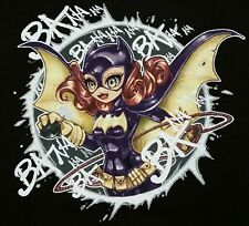 """Baaannaananana"" Batgirl Batman Men's XL Shirt Teevillain"