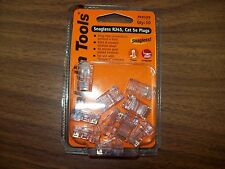 Paladin PA9588 Snagless RJ45,Cat5e Plugs Qty-10 *New*
