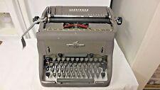 Vintage Underwood USA Typewriter-Manual Speeds the Worlds Business Logo