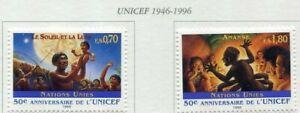 19652) UNITED NATIONS (Geneve) 1996 MNH** Nuovi** UNICEF