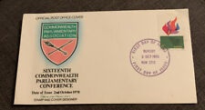 1970 Commonwealth Parliamentary Conference Australian Fdc Revesby Nsw