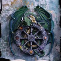 Nemesis Now Anne Stokes Magical Dragon Pagan Wheel of the Year 30cm B5255S0