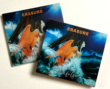 ERASURE * WORLD BE GONE * GREECE ISSUE w/ EXCLUSIVE REMIXES CD * 500 ONLY!