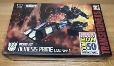 Transformers : Nemesis Prime Model Kit IDW GEN 1 Version Flame Toys SDCC Sealed