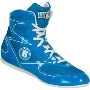 Ringside Lo-Top Diablo Boxing Shoes - Blue