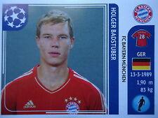 Panini 7 Holger Badstuber Bayern München UEFA CL 2011/12