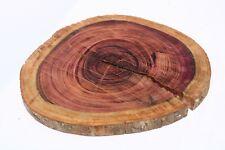 Purpleheart Exotic Wood Natural Live Edge Slab Lumber Coffee Table 1.5 x 19 x 19