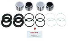 for Toyota Hilux KUN25 KUN26 2005- Front Brake Caliper Seal Kit + Pistons RKP45S