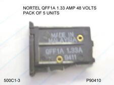 NORTEL FUSE QFF1A  .1.33 AMP  PACK 5 UNITS