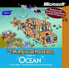 Microsoft - The Magic School Bus Explores the Ocean (PC, 2001)