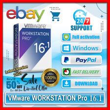 VMware Workstation Pro 16.1.0🔑2021🔑Lifetime Activation 🔑Win✅ Unlimited PC✅