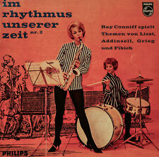 """Ray Conniff - IN RHYTHM Our Time Follow 2 Philips 7 """" Singles (H273)"""