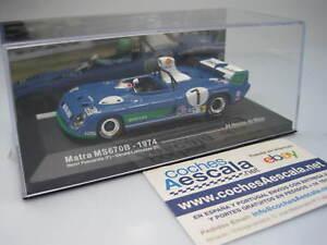 Le Mans Altaya Matra MS 670B 1974 Pescarolo - IXO 1/43 ( CochesAescala )