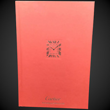 Cartier Catalog Watchmaking Hardcover Book, Watches Collection 2016, Red Cover
