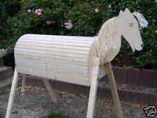 Holzpferd Voltigierpferd Holzpony Pferd Pony -NEU-