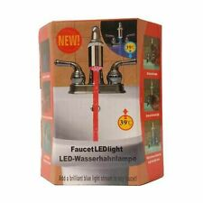 LAMPE ECLAIRAGE LED ROBINET ROUGE BLEU / CHAUD FROID 01