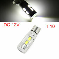 T10 501 194 W5W LED 10 SMD Canbus Error Free Car Side Light Wedge White Interior